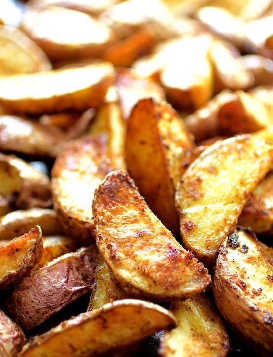 Perfect Roasted Potato Wedges Recipe | HeyFood — heyfoodapp.com