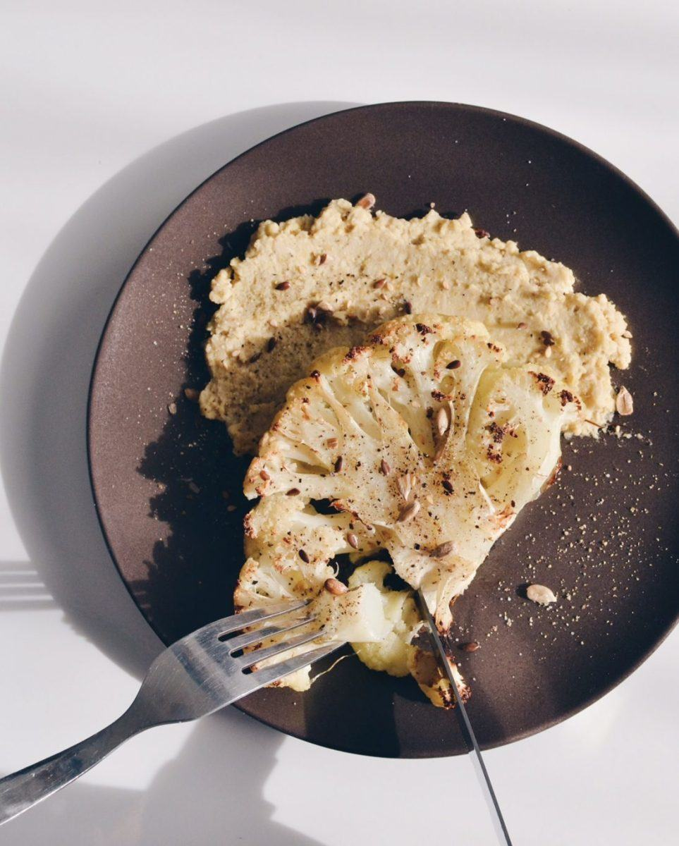 Cauliflower steaks Recipe | HeyFood — heyfoodapp.com