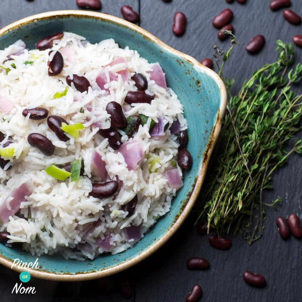 Jamaican Rice And Peas | Slimming & Weight Watchers Friendly Recipe | HeyFood — heyfoodapp.com