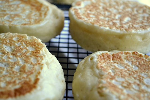 English Crumpets with Maple Pecan Butter Recipe | HeyFood — heyfoodapp.com