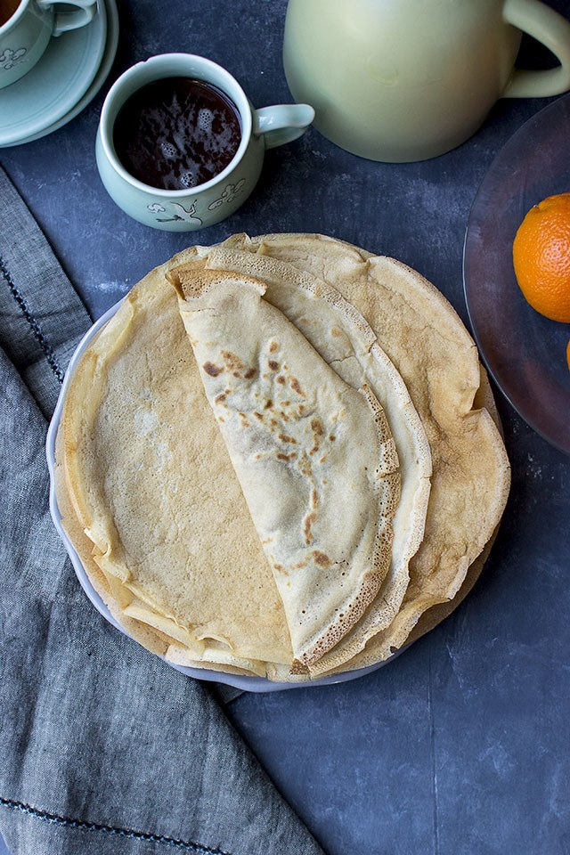Vegan Wholewheat Crepes Recipe | HeyFood — heyfoodapp.com
