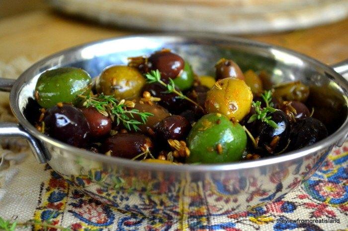 Roasted Olives Recipe | HeyFood — heyfoodapp.com
