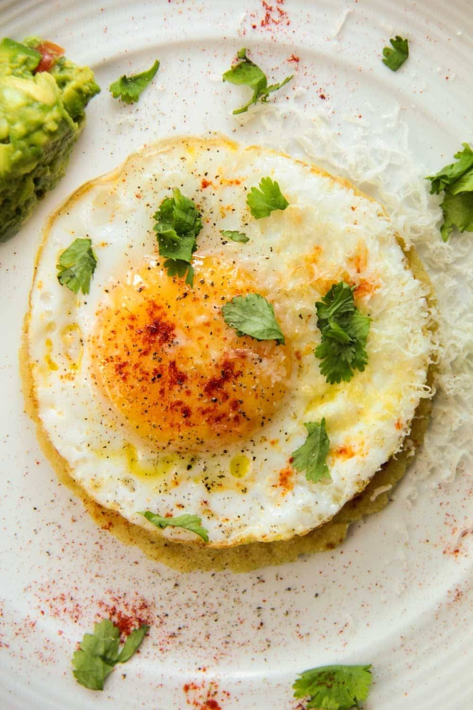 Fried Egg Tacos Recipe   HeyFood — heyfoodapp.com