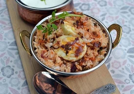 Egg Biryani Recipe | HeyFood — heyfoodapp.com