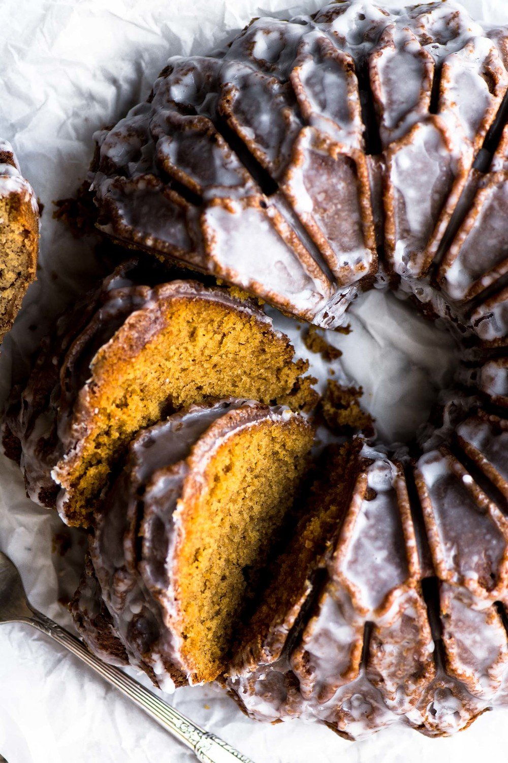 Glazed Gingerbread Bundt Cake Recipe | HeyFood — heyfoodapp.com