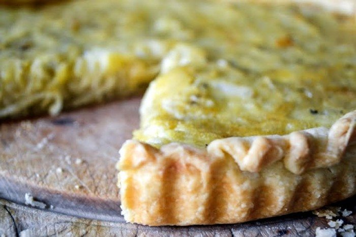 Elizabeth David's Onion Tart Recipe | HeyFood — heyfoodapp.com