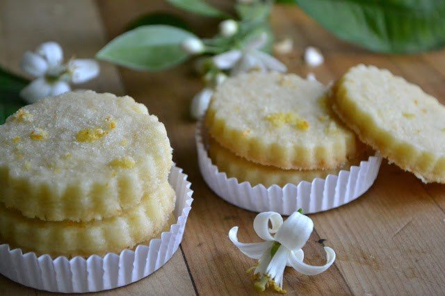 Orange Blossom Shortbread Recipe | HeyFood — heyfoodapp.com