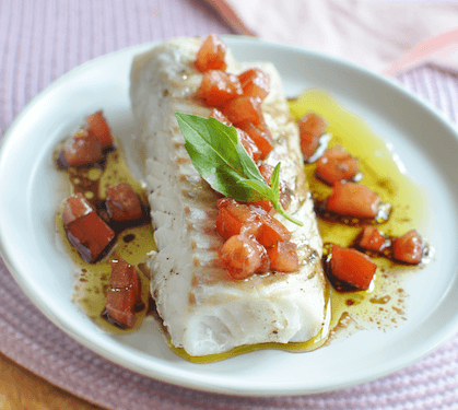 Filet De Dorade, Sauce Vierge Recipe | HeyFood — heyfoodapp.com