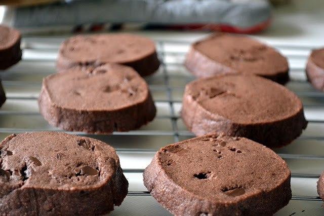 Maida Heatter's Chocolate Shortbread Cookies Recipe | HeyFood — heyfoodapp.com