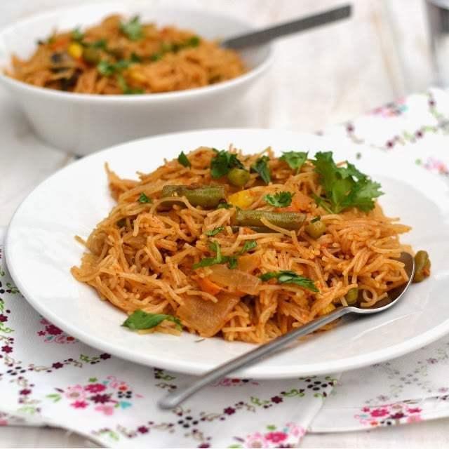 Semya Pulao (Vermicelli Pilaf) Recipe | HeyFood — heyfoodapp.com