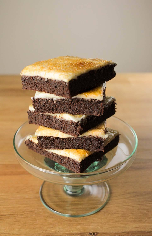 Crème Brûlée Brownies Recipe | HeyFood — heyfoodapp.com
