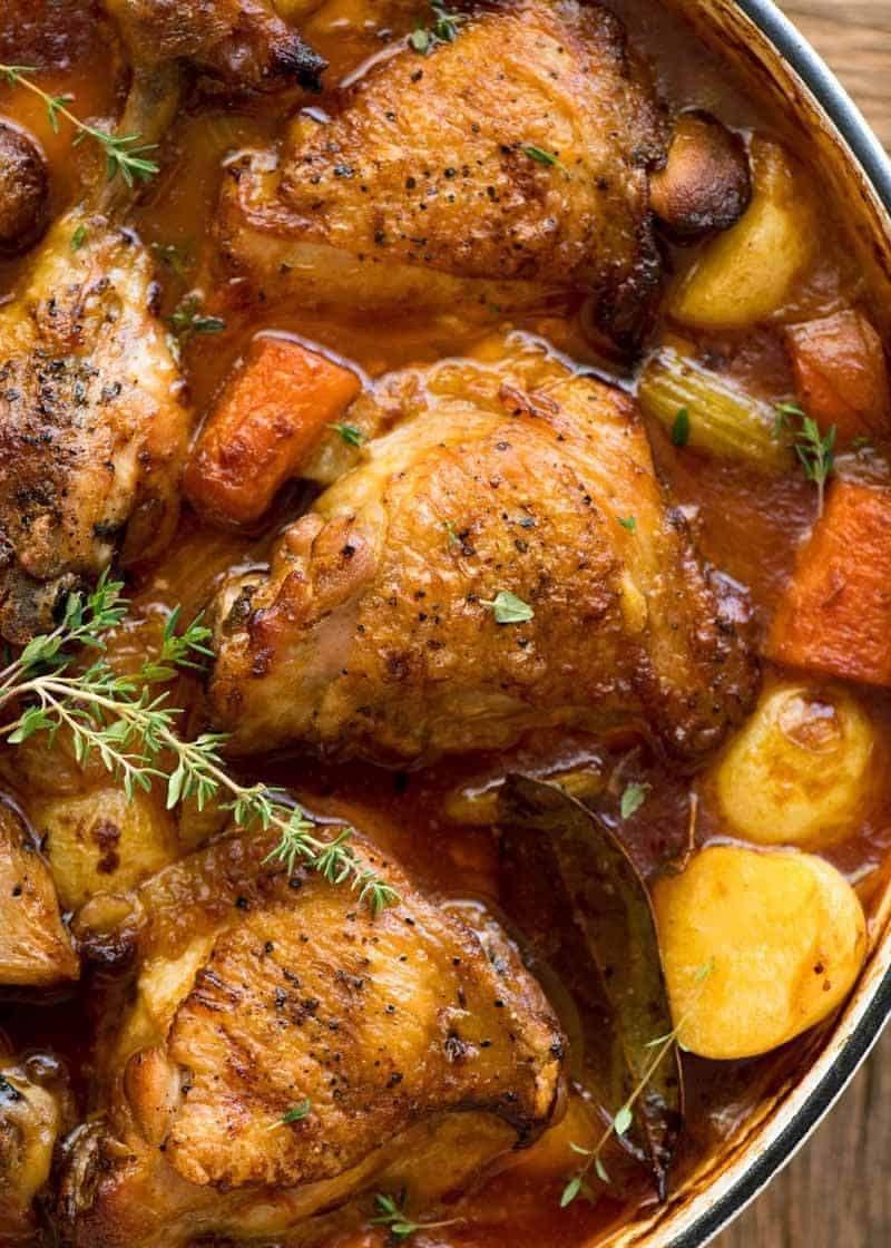 Chicken Stew Recipe   HeyFood — heyfoodapp.com