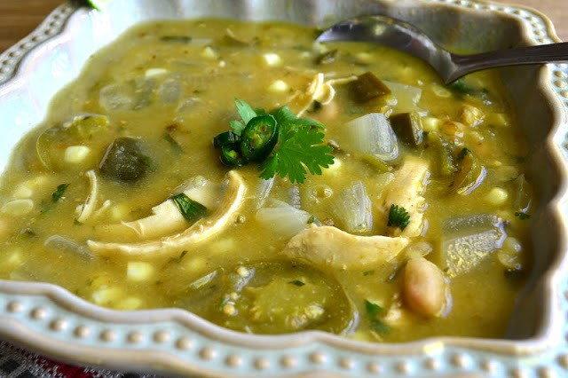 Chile Verde with Chicken Recipe | HeyFood — heyfoodapp.com