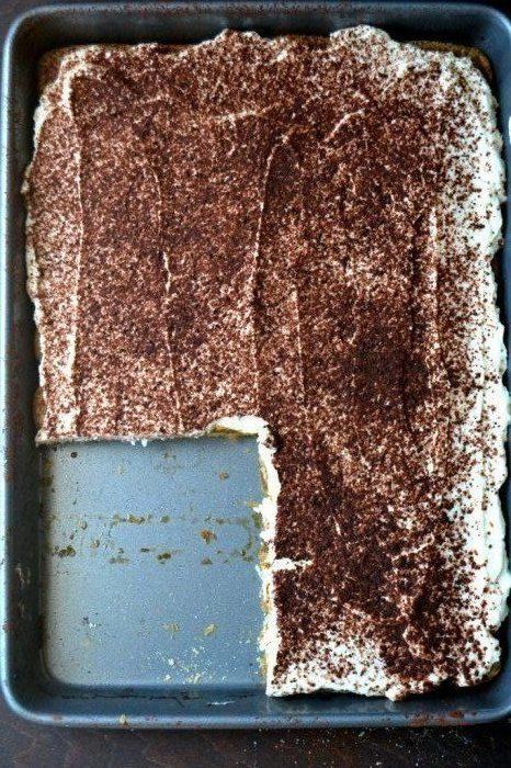 Slab Tiramisu Recipe | HeyFood — heyfoodapp.com