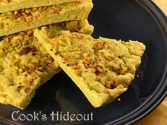 Pistachio Shortbread Recipe | HeyFood — heyfoodapp.com