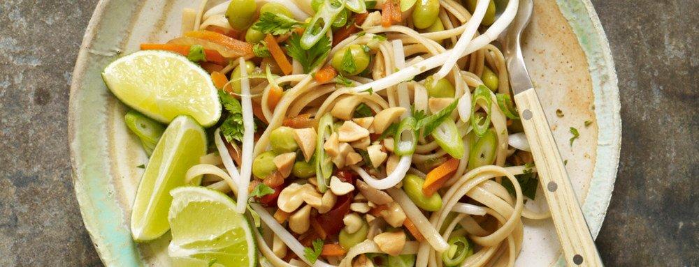 Easy Thai Noodles Recipe   HeyFood — heyfoodapp.com