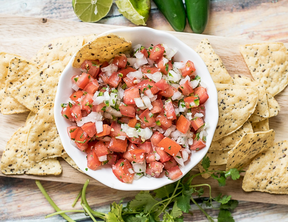Pico de Gallo Recipe | HeyFood — heyfoodapp.com