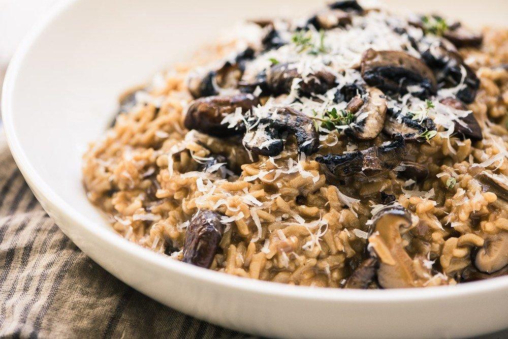 Instant Pot Wild Mushroom Risotto Recipe | HeyFood — heyfoodapp.com