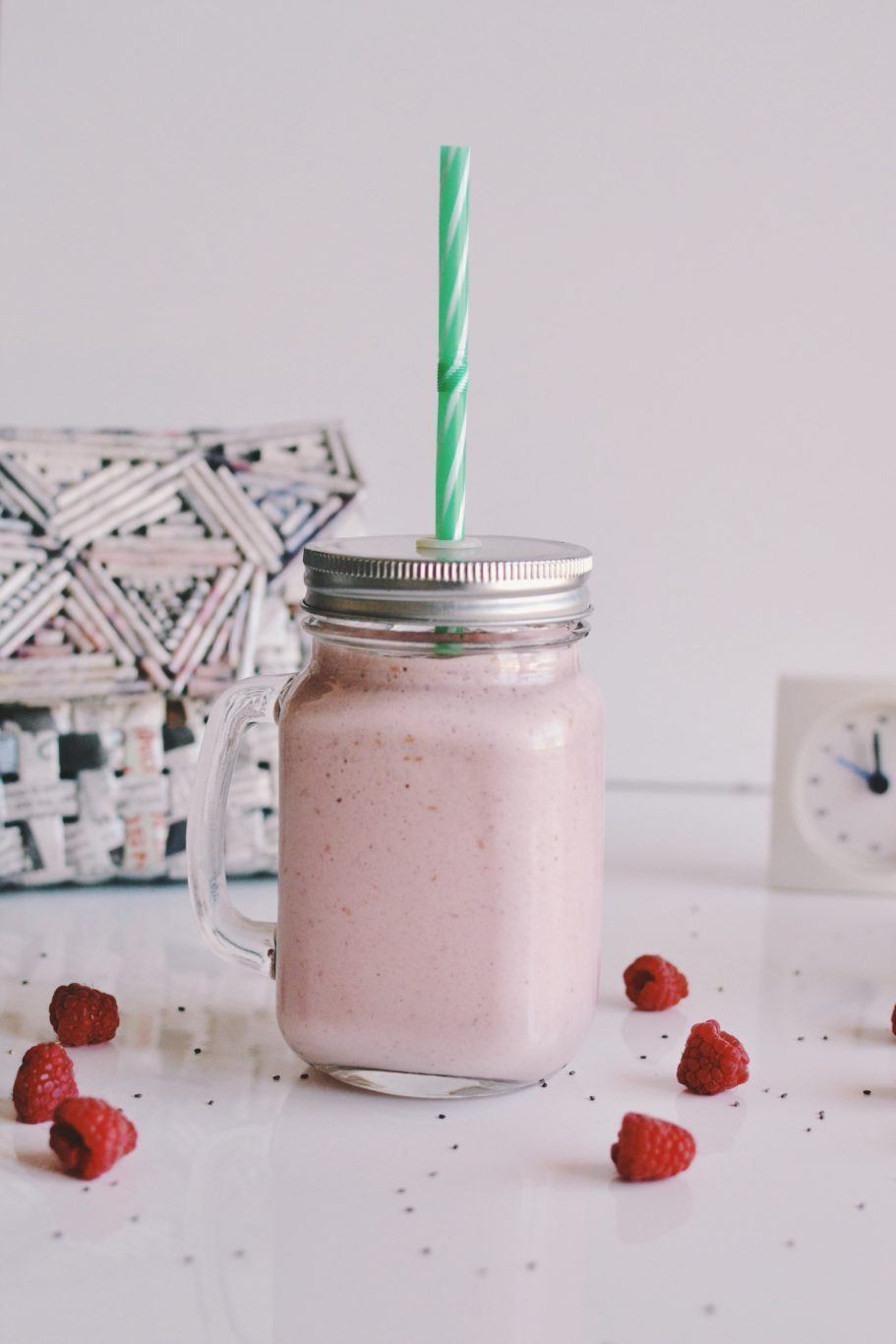Raspberry smoothie Recipe | HeyFood — heyfoodapp.com