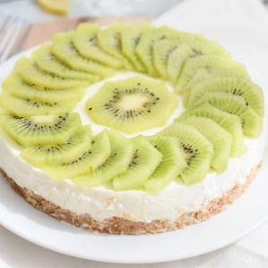 Healthy Low FODMAP Cheesecake With Lemon Recipe | HeyFood — heyfoodapp.com