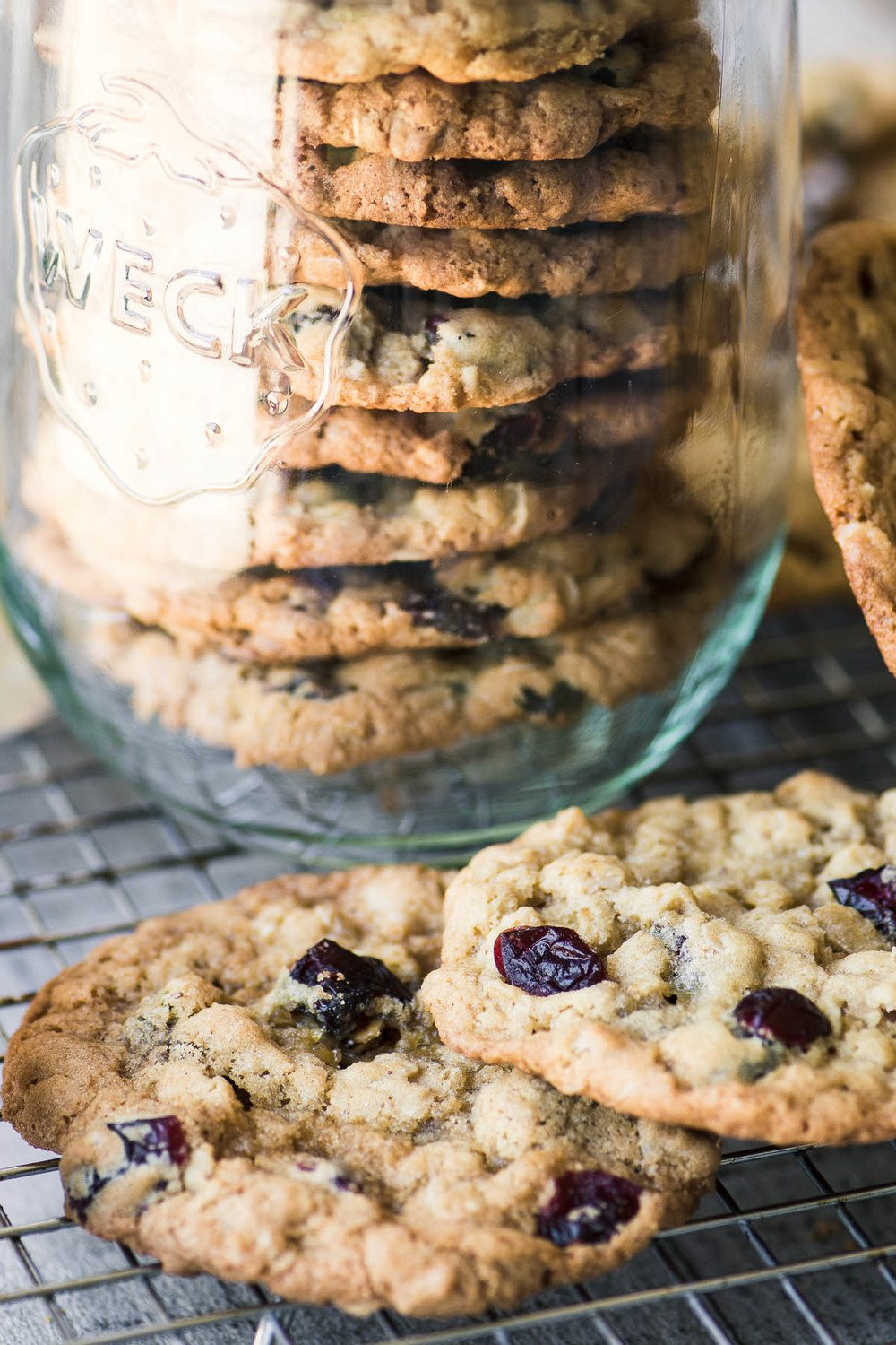 Oatmeal Cranberry Cookies Recipe | HeyFood — heyfoodapp.com