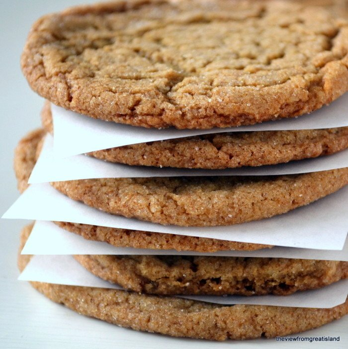Chewy Ginger Cookies Recipe | HeyFood — heyfoodapp.com