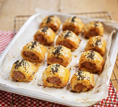 Super Sausage Rolls Recipe | HeyFood — heyfoodapp.com
