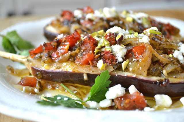 Imam Bayildi, 'The Priest Wept' (Turkish Stuffed Eggplant) Recipe | HeyFood — heyfoodapp.com
