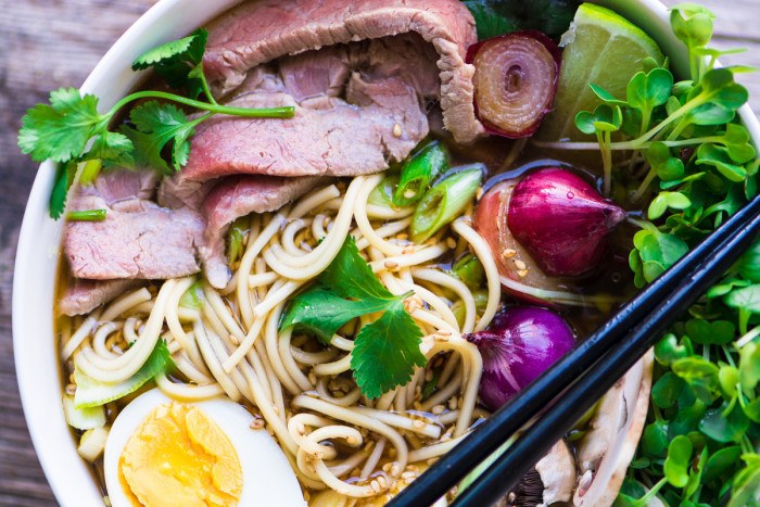 Slow Cooker Weeknight Pho Recipe | HeyFood — heyfoodapp.com