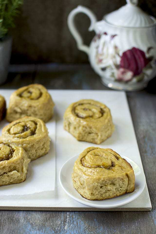 Wholewheat Sweet Rolls with Mango Filling Recipe | HeyFood — heyfoodapp.com