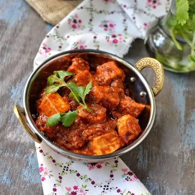 Kashmiri Paneer Tikka Masala Recipe | HeyFood — heyfoodapp.com