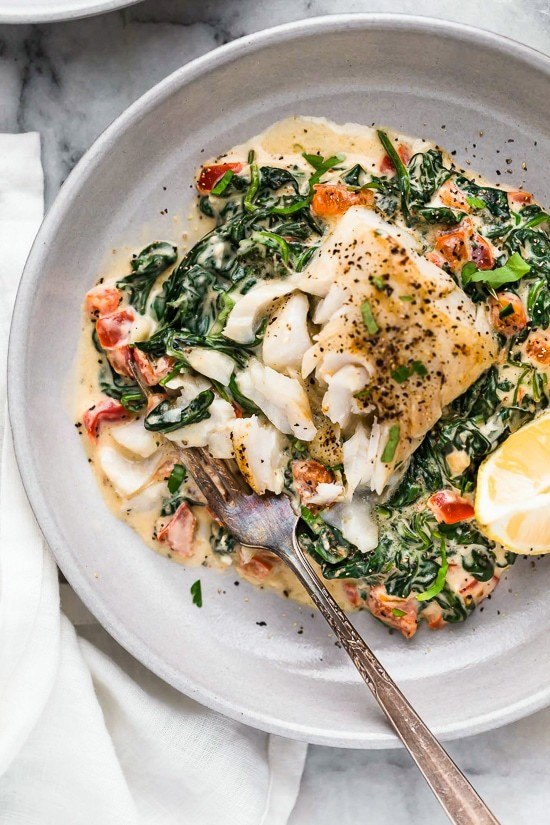 Fish Florentine Recipe | HeyFood — heyfoodapp.com
