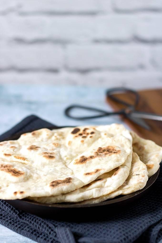 Quick And Easy Yeast-Free Naan Bread Recipe Recipe | HeyFood — heyfoodapp.com
