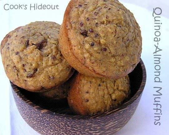 Quinoa-Almond Muffins Recipe | HeyFood — heyfoodapp.com