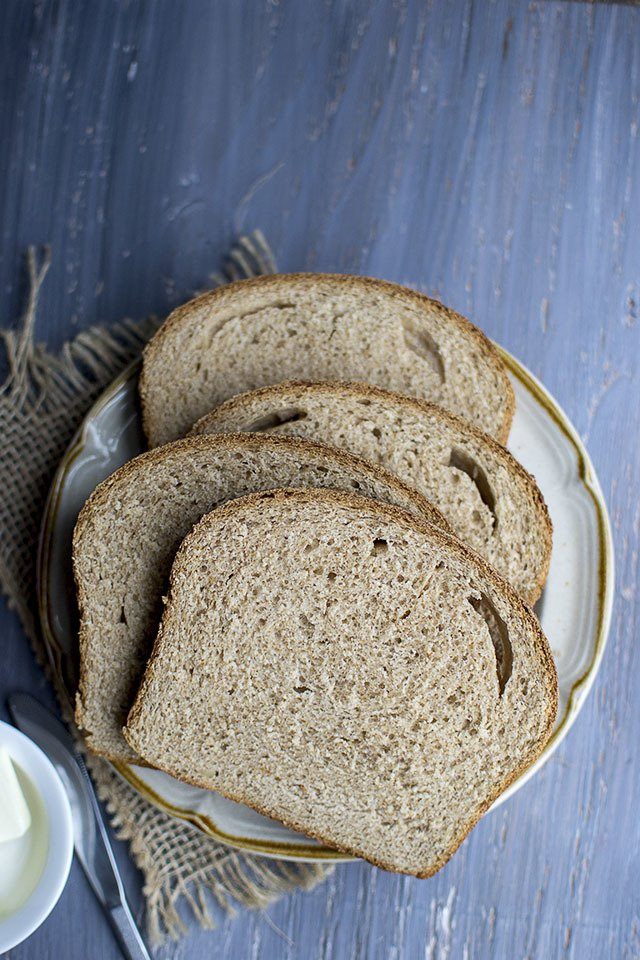100% Whole wheat Bread Recipe | HeyFood — heyfoodapp.com