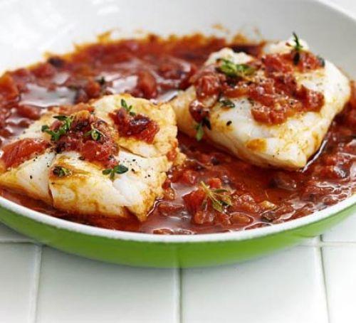 Tomato & Thyme Cod Recipe | HeyFood — heyfoodapp.com