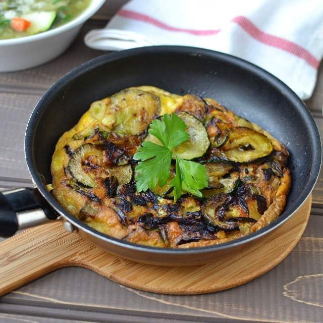 Andalusian Courgette Tortilla (Zucchini Omlet) Recipe | HeyFood — heyfoodapp.com