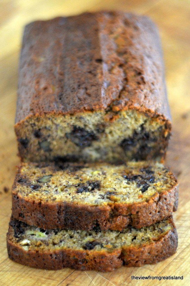 Chocolate Chip Banana Bread Recipe | HeyFood — heyfoodapp.com