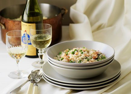 Risotto With Peas And Prawns Recipe | HeyFood — heyfoodapp.com