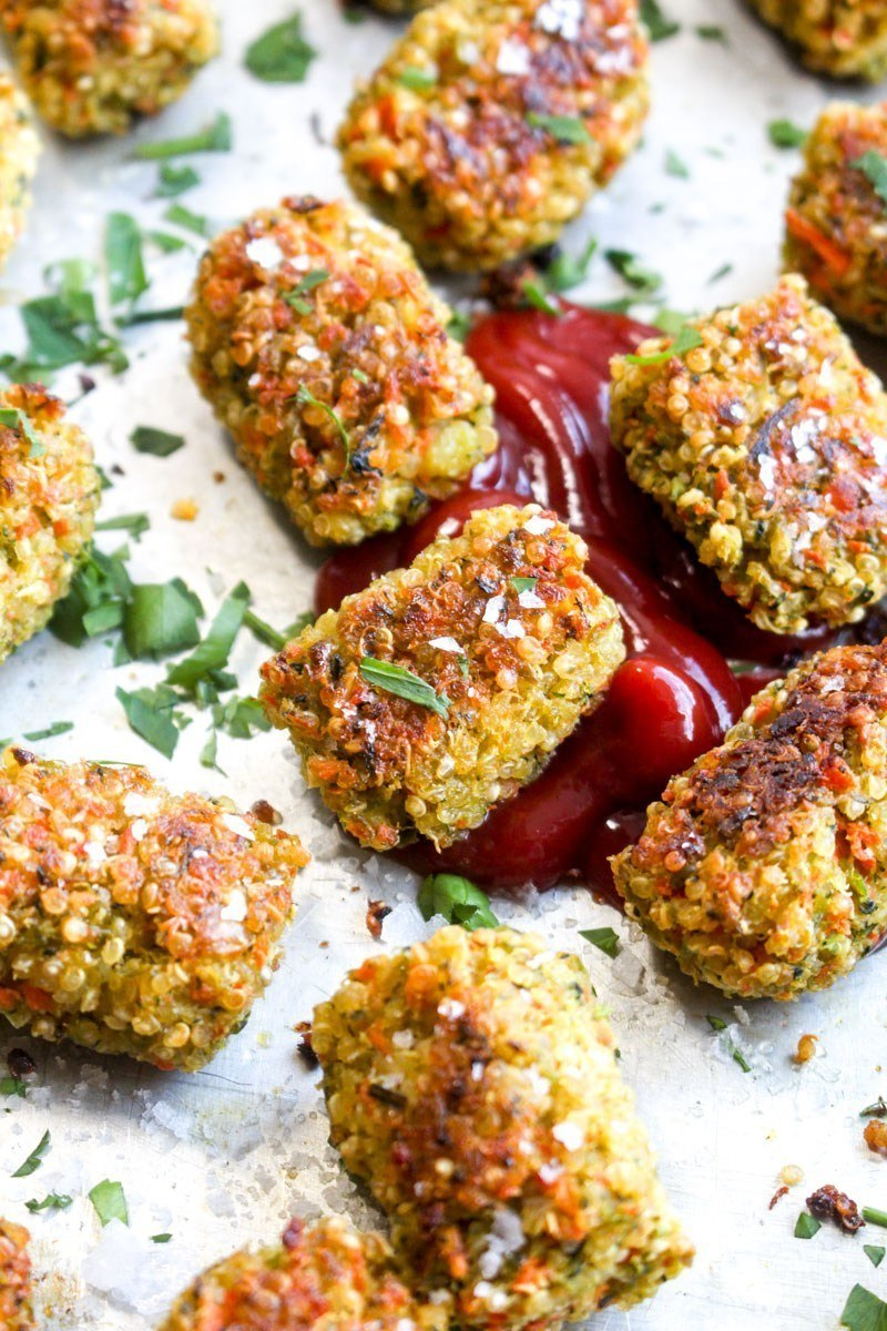 Quinoa Veggie Tots Recipe | HeyFood — heyfoodapp.com