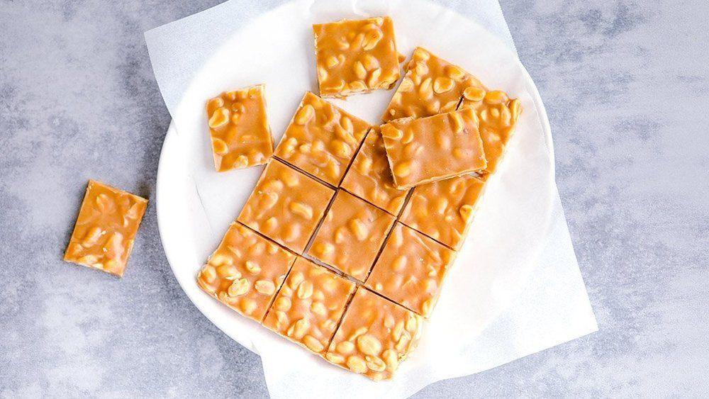 4 Ingredient Peanut Butter Fudge Recipe   HeyFood — heyfoodapp.com