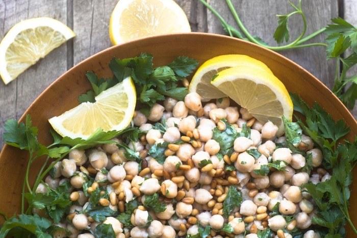 Deconstructed Hummus Salad Recipe | HeyFood — heyfoodapp.com