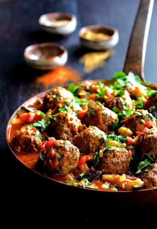 Moroccan Meatball and Vegetable Ragout Recipe | HeyFood — heyfoodapp.com