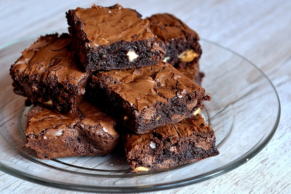 Triple Chocolate Brownies Recipe | HeyFood — heyfoodapp.com