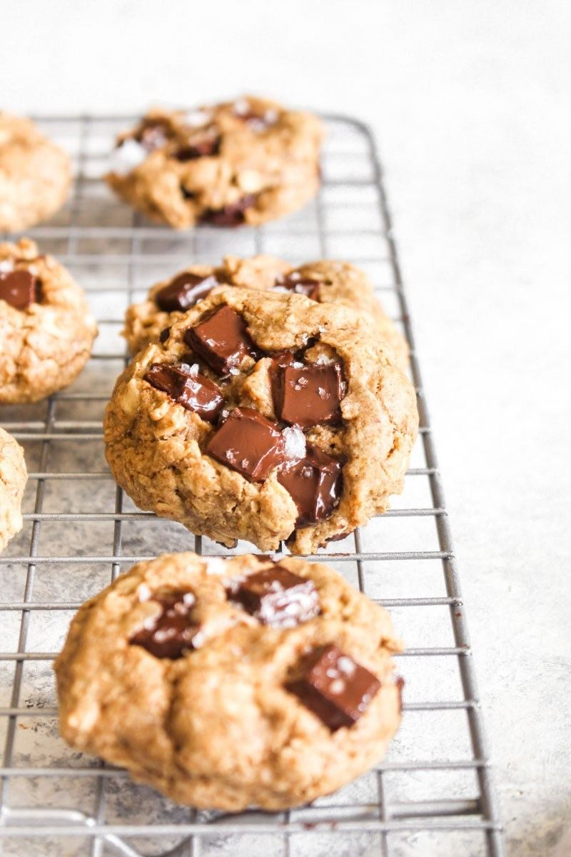 Chocolate Chunk Oatmeal Cookies Recipe | HeyFood — heyfoodapp.com