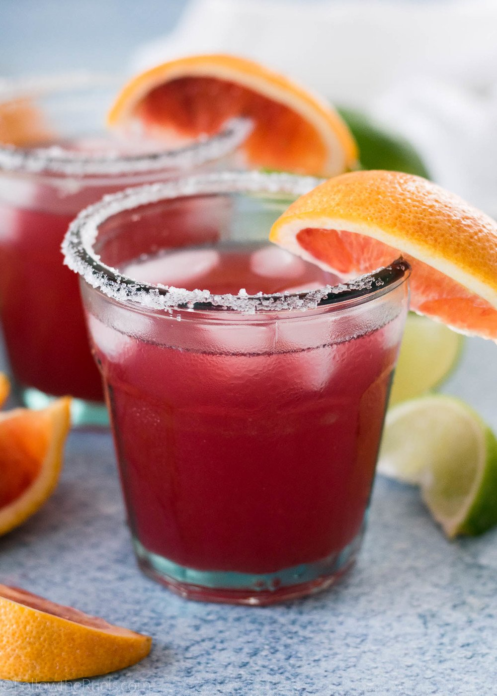 Blood Orange Margaritas Recipe | HeyFood — heyfoodapp.com
