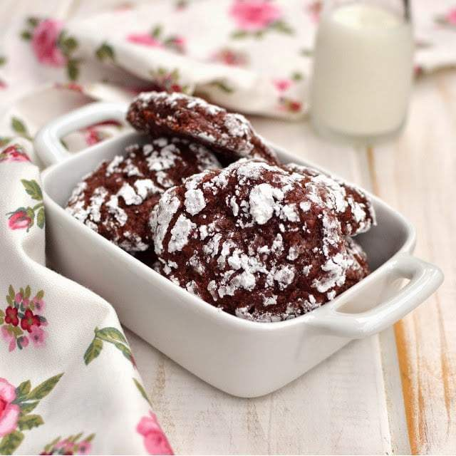 Red Velvet Crinkle Cookies Recipe | HeyFood — heyfoodapp.com