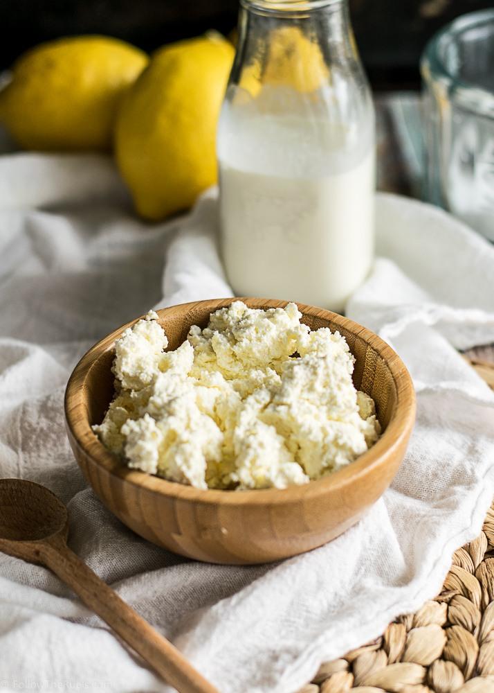 Homemade Ricotta Cheese Recipe | HeyFood — heyfoodapp.com