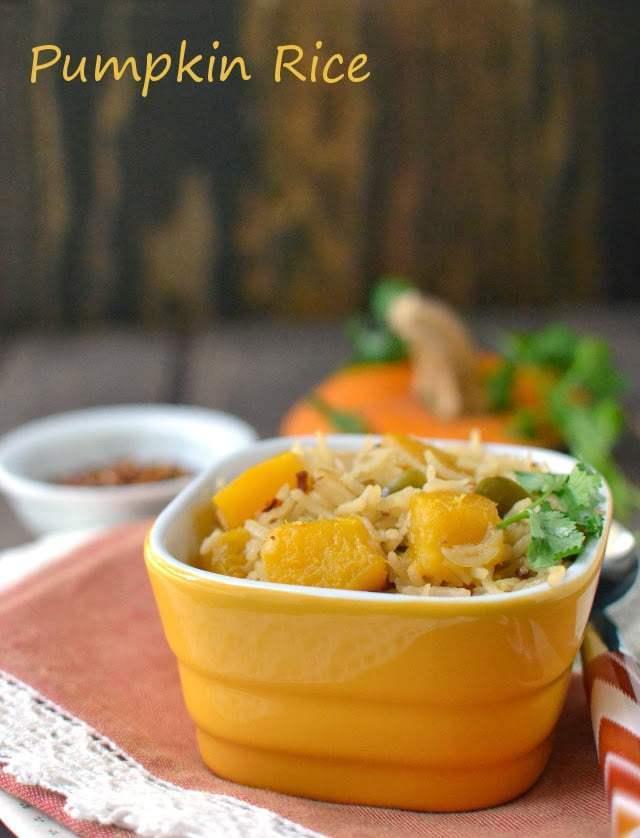 Pumpkin Rice Recipe   HeyFood — heyfoodapp.com
