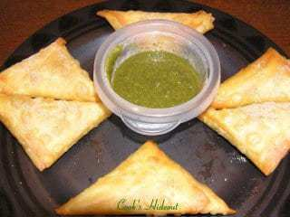 Black Eyed Pea Samosa Recipe | HeyFood — heyfoodapp.com